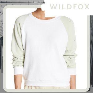 🐰 NWT WILDFOX Glitz Sweatshirt (Rhinestone)